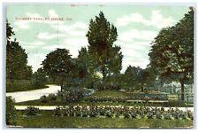 1908 Swinney Park, Ft. Wayne, IN Postcard