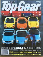 Top Gear Magazine #42 - March 1997 - Merc SLK Elise MX-5 Boxster Chimera