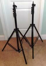 1pr. (2ct.) Quantuum 9ft Air Cushioned Light Stands for Photo / Video Studio