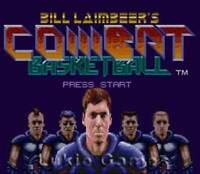 Bill Laimbeer's Combat Basketball - SNES Super Nintendo