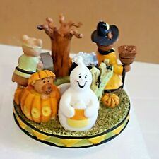 Candle Capper Halloween Boo Bears Jar Candle Topper