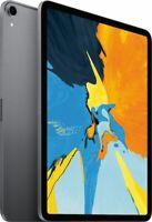 Apple iPad Pro 11-Inch 3rd 64GB 256GB 512GB Wi-Fi or Cellular Space Gray Silver