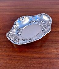GORHAM CO STERLING SILVER DISH / BOWL - ROSE PATTERN #2679 NO MONOGRAM