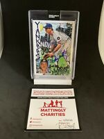 "Don Mattingly Signed Topps ""Project 2020"" King Saladeen Edition Rookie Card COA"
