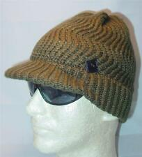 Nwt Licensed Tony Hawk Skater Cable Knit Billed Beanie Hat Olive Green _S50