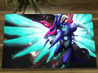 F3657 Custom Playmat MTG Playmat Yugioh Playmat TCG Deck Mat League of Angels