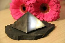 Shungite pyramid from Russia 70 mm EMF protection schungit pyramiden PP05