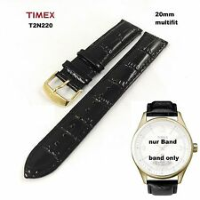 Timex Replacement band T2N220 T-Series Perpetual Calendar Quality Leather