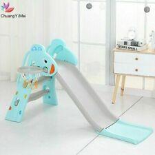 Baby Slide Combination Children Outdoor Indoor Home Kids Playground Basketball