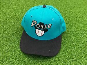 RARE Vintage 1993 New Era Pro Model POCATELLO POSSE Team Issue Minor League HAT