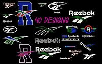 MACHINE EMBROIDERY DESIGNS - 50+ REEBOK EMBROIDERY DESIGNS - PES DST JEF FORMAT