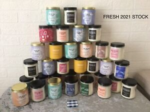 Bath and Body Works Candle Single Wick Fresh 2021 Stock