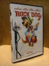 Rock Dog (DVD, 2017) Luke Wilson Eddie Izzard J.K. Simmons