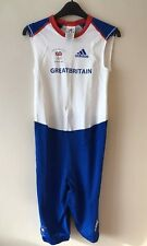 Womens Adidas Official Team Gb Sprint Suit From 2008 Beijing Olympics Bnwt Uk-16