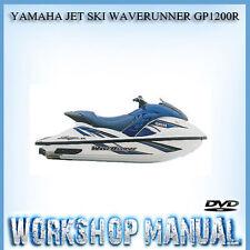 YAMAHA JET SKI WAVERUNNER GP1200R WORKSHOP SERVICE REPAIR MANUAL IN DISC