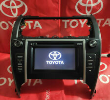 12 13 TOYOTA Camry RADIO CD PLAYER Touch screen OEM 86140-06010 HEAD UNIT 57012