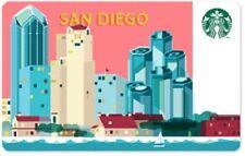 Starbucks San Diego Gift Card 2014 San Diego Skyline
