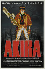 Akira (1988) Katsuhiro Otomo Anime movie poster print