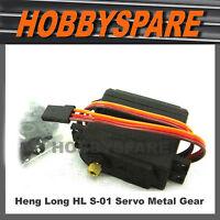 HENG LONG HL S-01 METAL GEAR SERVO RC CAR MAD TRUCK SPRINT LAND OVERLORD