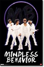 MINDLESS BEHAVIOR IN WHITE R&B HIP HOP GROUP NEW 22x34 POSTER FREE FAST SHIPPING