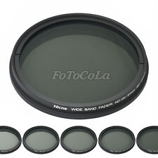 55mm fader ND filter adjustable variable ND2 to ND400