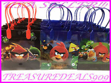48 PCS ANGRY BIRDS ROVIO GOODIE BAGS PARTY FAVORS CANDY BIRTHDAY LOOT BAG SPACE