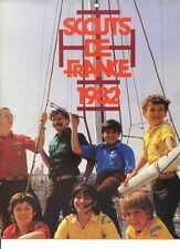 CALENDRIER SCOUTS DE FRANCE 1982 ---