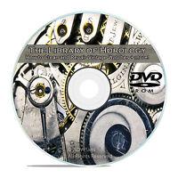 Horology Guides, The Modern Clock, Watchmaker Lathe, Classic Videos CD DVD V61