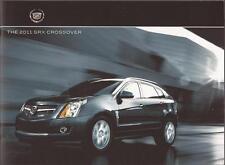 2011 11 Cadillac SRX Crossover  original sales brochure MINT