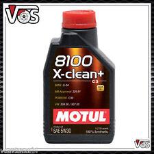 OLIO MOTORE MOTUL 8100 X-CLEAN + 5W30 C3 6 LITRI ACEA C3 vw 504 00 507 00 LL 04