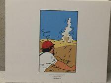 Tintin Extrait Planche Crabe aux Pinces d'Or #4 - Hergé Moulinsart / 24 x 20 cm