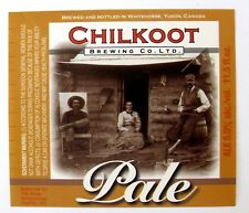 Chilkoot Brewing Co CHILKOOT PALE beer label CANADA 11.5oz Imported by Odom