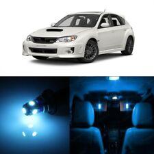 8 x Ice Blue LED Interior Lights Kit For 2004 -2018 Subaru Impreza WRX STI TOOL