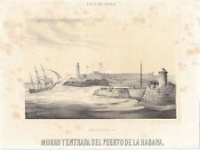 "GRAB-2 SPAIN 1856 MIALHE ORIGINAL ""VIAJE PINTORESCO... ISLA DE CUBA"" MAY EDITION"