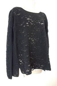Zadig Voltaire Box Deluxe Lurex Jumper Designer Sweater size M