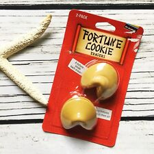 Collectible Fortune Cookie Erasers 2Pk