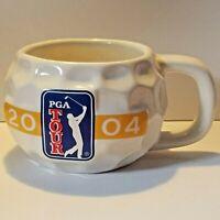 2004 PGA Tour Golf Ball Style Coffee Mug