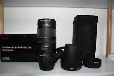 Sigma APO DG HSM 70-200 2.8 OS für Canon Neuwertig 1 Jahr Gewährleistung