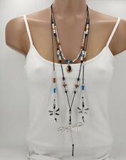 Uno De Los 50 Collares De Yo Contigo. Collar Boho, Collar Cuero, Collar Hippie