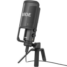 Rode NT-USB Studio Quality USB Condenser Microphone with Stand & Pop Shield