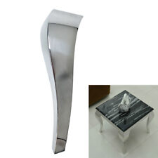 Stainless Steel Furniture legs Snake-Shaped Sofa Legs Dresser Cabinet x4 16inch