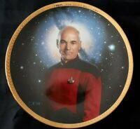 "Star Trek plate ""Captain Picard"" mint condition in original box (10)"