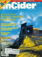 1989 InCider Magazine: Public-Domain Software/AppleWorks GS/Design Home/GEOS