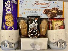 COUPLES LUXURY CHRISTMAS FOOD TREATS GIFT HAMPER BOX SET FAMILY FRIENDS PRESENT