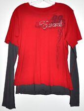 Chase Authentic Nascar Carl Edwards 99 Long Sleeve Ladies Tee Sz Large NWT