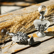 Crystal Vintage Perfume Silver Metal Dragonfly Handmade Bottle Lady Gifts 8ml