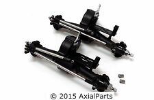 (2) Redcat RS10 Rock Crawler Axles Metal Steering Front/Rear MOA Scale Comp 1/10