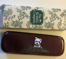 Bombay Company Pen Pencil Box West Highland White Terrier Westie Dog Dk Mint 6.5