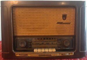 """Grundig 2035 vintage tube radio Made in West Germany works & IT""""S LOUD!"""