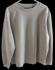 Nat Nast L/S Pullover Gray 100% Cotton XL